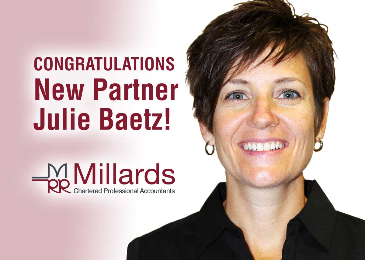 Julie Baetz Millards Professional Chartered Accountants